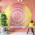 Mandala Tapestry Multi Sunset Hue Boho Wall Hanging