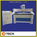 CNC Semi Automatic Wood Cutting Machine