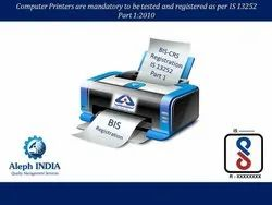 BIS Registration For Printers