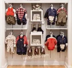 Kids Apparel Display Racks