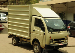 Mahindra Ace Delivery Van Body Building Service