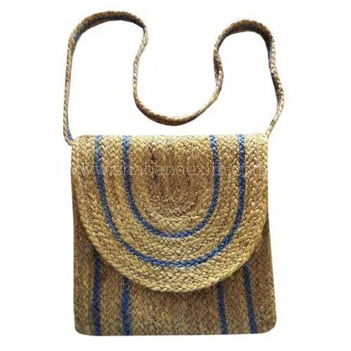 Ladies Designer Shoulder Shopping Hand Bag Natural JUTE Beach Multi Purpose
