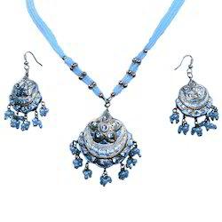 Ethnic Designer Pendant Earrings Set 138
