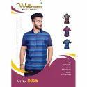 Wellman Half Sleeves Printed Shirt