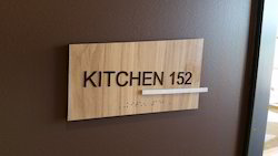 Wood Indoor Signage