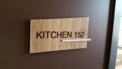 Wood Indoor Signage
