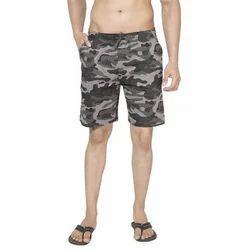 Steel Grey Clifton Mens Army Shorts