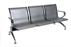 Stainless Steel Waiting Chair