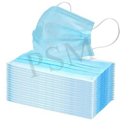 Disposable 3 Ply Face Mask Blue