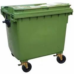 Plastic Wheel Dustbin (1100 Liters)