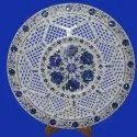 White Marble Jaali Plate