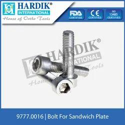 Sandwich Plate Bolt