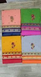 Work Cotton Dress Material
