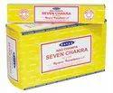 Satya Nag Champa Seven Chakra Incense Sticks