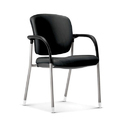 Comfortable Visitor Black Chair