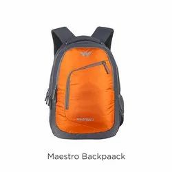 Polyester Orange Maestro Laptop Back Pack, Capacity: 31 L