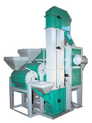 Double Roller Dal Milling Machine