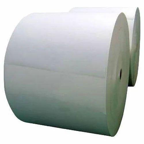 1000Kg Plain Paper Rolls, Packaging Type: Roll