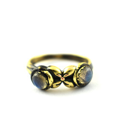 Labradorite Gemstone Fancy Rings