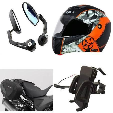 Honda Bike Accessories, Motorbike Accessories, मोटर साइकिल ...