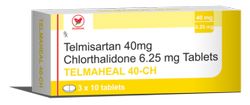 Telmaheal 40 CH - Telmisartan 40mg Chlorthalidone 6.25mg
