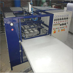 Triple Die Automatic Thermocol Dona Making Machine
