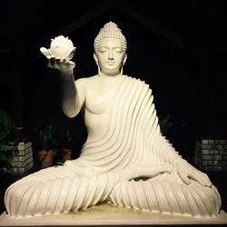 FRP Meditating Buddha Statue