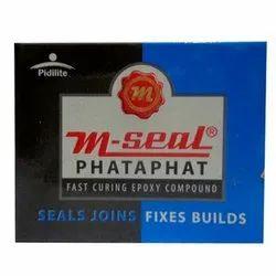 White - Grey M-Seal Phata Phat 25 gm, Packaging Type: Box