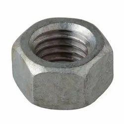 Polished Mild Steel Hex Nuts