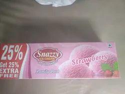 Snazzy Strawberry Ice Cream