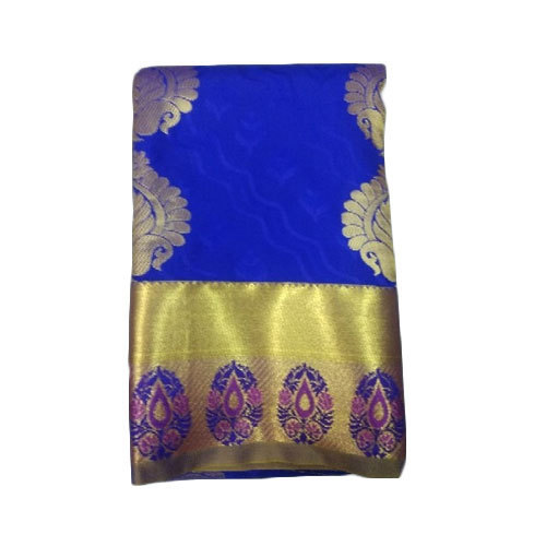 7a1e037e03 Pure Silk Party Wear, Wedding Wear Kanchipuram Silk Saree, Rs 1250 ...