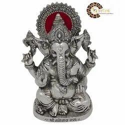 Metal Traditional Ganesha for Interior Decor