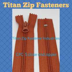 CFC 5 Closed End Zippers
