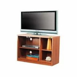 Brown Free Unit Wooden TV Trolley
