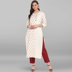 Casual Ladies Cotton Kurti