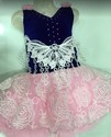 Blue Pink Baby Frock