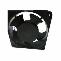 Metal Black Panel Cooling Fan J-LOCK, Size: 120 X 120 X 38 Mm, 220 to 240 V
