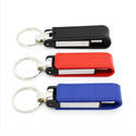 Leather Key Chain USB Flash Drive