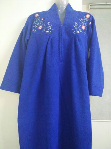b88be74eaf Nighties Embroidered Ladies Winter Nighty