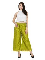 Ladies Glace Cotton Palazzo Pants