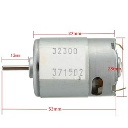New Dc3-12v Large Torque Motor Super Model With High Speed