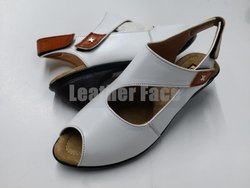 Women Leather Face - Designer Sandals