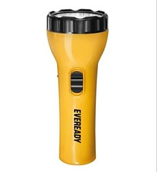 Plastic Cool White Eveready 0.5w Ultra LED Rechargeable Torch