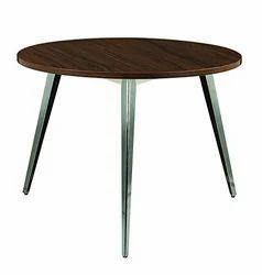 MAVI Brown Beautiful Round Office Table