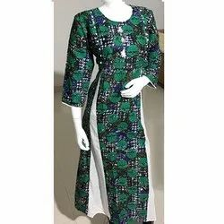 Casual Wear Rayon Printed Kurti