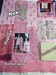 Cotton Print Suit
