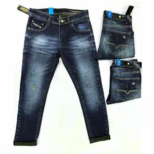 9b14ed53c2 Mens Plain Denim Jeans