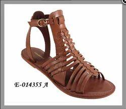 Leather Women Footwear E-014355 A