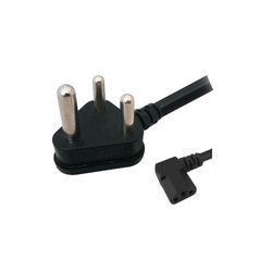 3 Pin Power Cord L Type