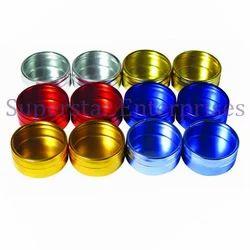 12pc Colored Aluminum Box Set